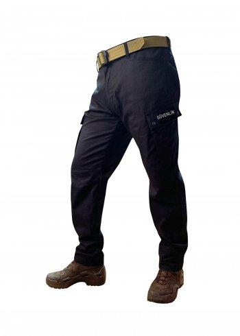 Siyah Özel Güvenlik Pantolonu