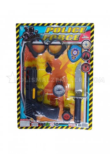 Polis Gücü Oyuncak Seti