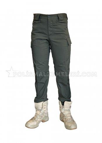 Haki rengi SlimFit taktik pantolon Yazlık Kartal 2020