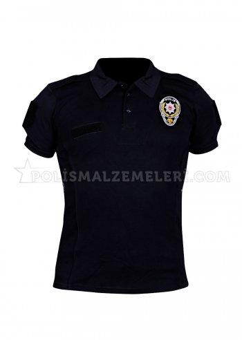 Çevik kuvvet zırhlı birlik polis tişörtü