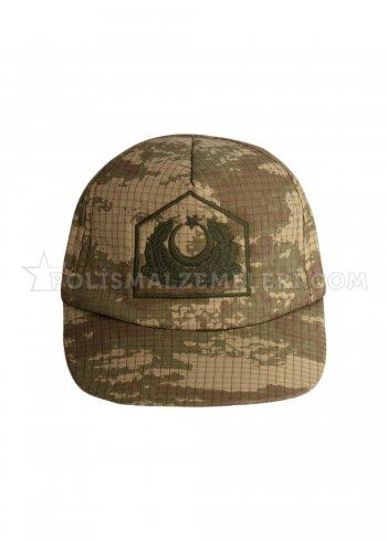 Kamuflaj Subay Şapkası