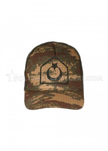 Kara Kuvvetleri Astsubay Şapka- Yazlık