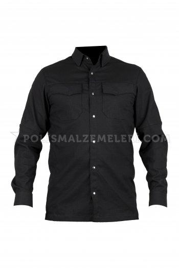 Taktikalp siyah çıtlı taktikal gömlek