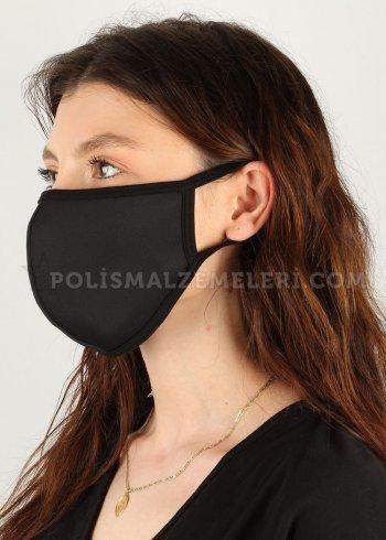 Nano yıkanabilir siyah maske