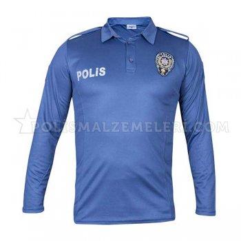 Nano Uzun Kol Polis Tişört