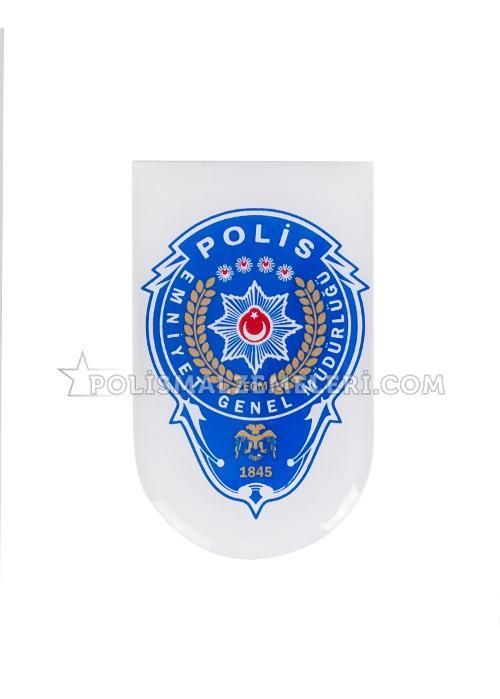 (50+ Harika) Polis Arması Boyama Sayfası